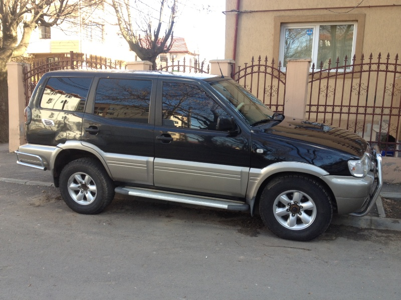 Engine 40 Jeep Rent Nissan Terrano 2 in Bucharest - Otopeni airport, Romania